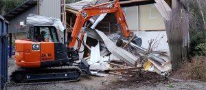 Demolition in Vancouver Washington
