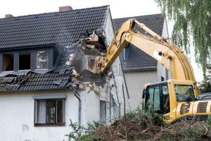Demolition in Portland Oregon